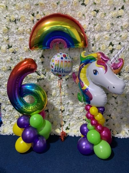 Rainbow and Unicorn Rainbow Set